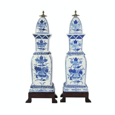 Maitland-Smith Chinese Style Ceramic Jars
