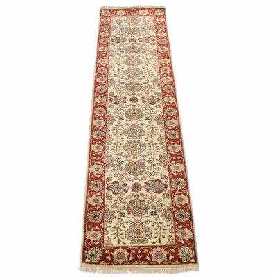 Hand-Knotted Persian Tabriz Runner