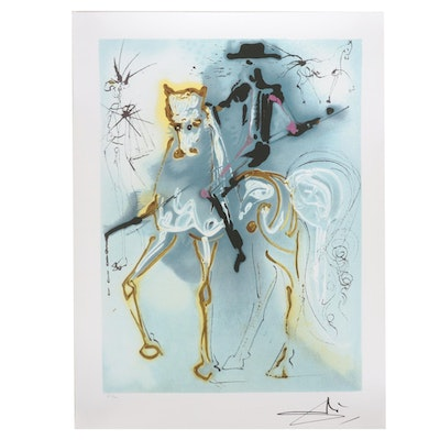 "Offset Lithograph After Salvador Dalí ""Le Picador"""