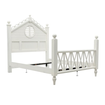 Cottage Style Queen-Size Bed Frame by Lexington Furniture