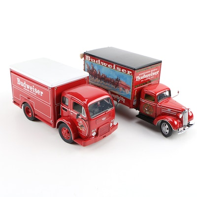 Danbury Mint Diecast Budweiser Delivery Trucks, 1997