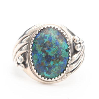 Sterling Silver Eilat Stone Ring