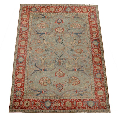 Hand-Knotted Turkish-Kurd Wool Room Sized Rug