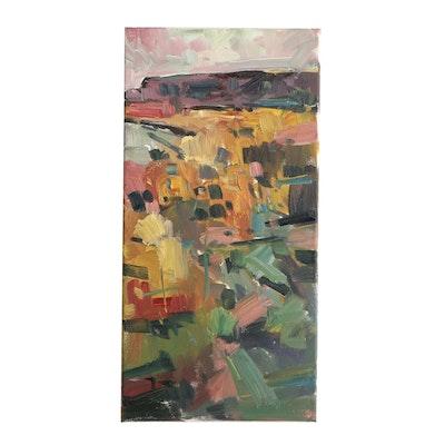 "Jose Trujillo Oil Painting ""Living Canyon"""