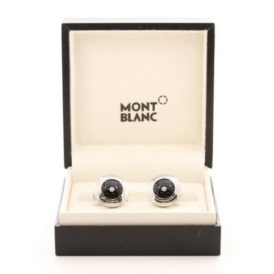 Mont Blanc Diamond Cufflinks