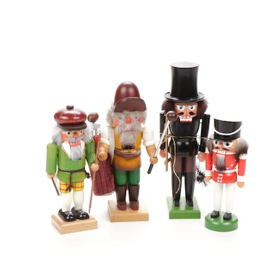 Hand-Crafted Wooden Nutcracker Figurines