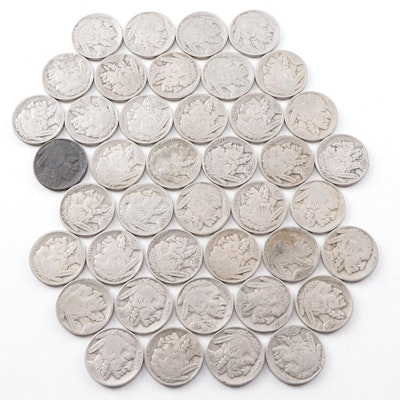 Forty-One Buffalo Nickels