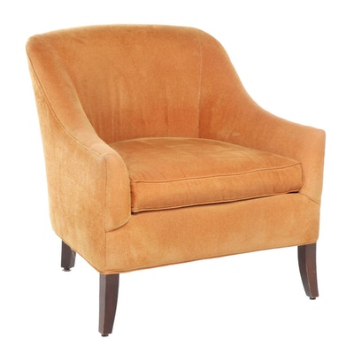Rowe Furniture Mid-Century Modern Upholstered Armchair