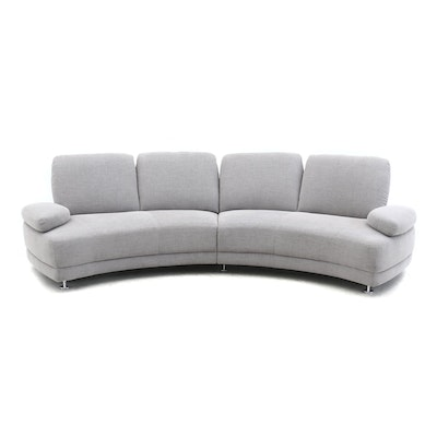 Upholstered Sectional Sofa, Late 20th Century
