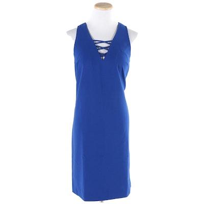 Fifteen Twenty Cross Front Sheath Dress
