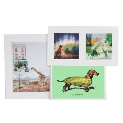Dewey James, Kate Harrold, and Will Ruocco Digital Prints