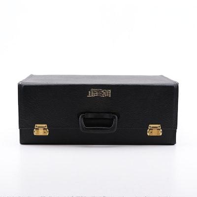 Leather Joy Mangano Rolling Suitcase And Duffle Ebth