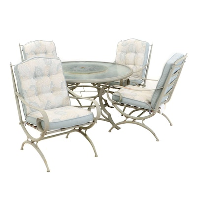 """Martha Stewart """"Everyday"""" Garden Patio Table and Chairs, Contemporary"""