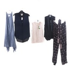 Kate Spade New York, Diane von Furstenberg and Other Shirts, Pants and Dress