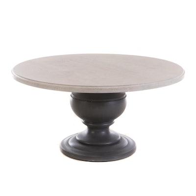 Circular Pedestal Dining Table, Contemporary