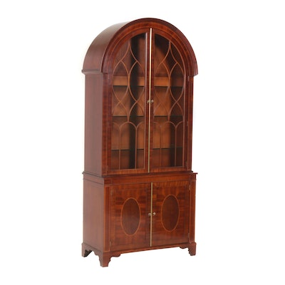 Baker Knapp & Tubbs Illuminated Cabinet, Mid to Late 20th Century