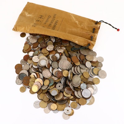Approximately 800 Foreign Coins