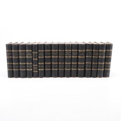 1872 Charles Lever Novels Sixteen Volume Set