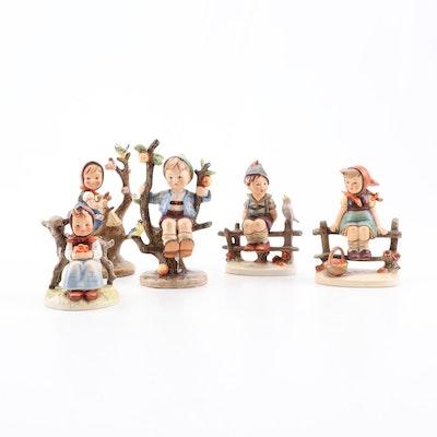 """Goebel Hummel Porcelain Figurines Including """"Good Friends"""""""