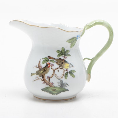 "Herend ""Rothschild Bird"" Porcelain Creamer"
