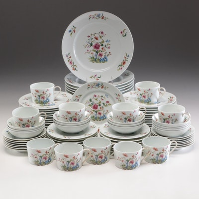 "Towle ""Madras"" Porcelain Dinnerware, Mid to Late 20th Century"