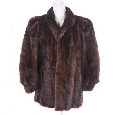 Mink Fur Jacket, Vintage