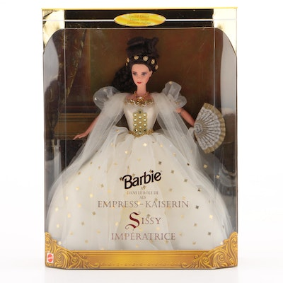 """Barbie as """"Empress-Kaiserin Sissy Impératrice"""", Limited Edition and Sealed, 1996"""