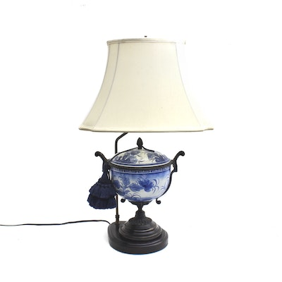 Maitland-Smith Ltd Hand Painted Ceramic Table Lamp