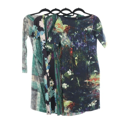 Etro, Lela Rose and Piazza Sempione Print Dresses
