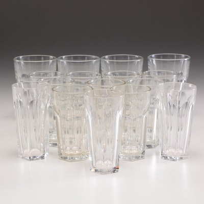 "Libbey ""Gibraltar"" Glass Tumblers and Other Glass Tumblers"