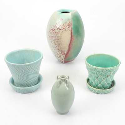 Ceramic Vases and Planters Including McCoy