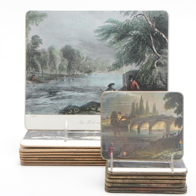 Lady Clare Placemat/Trivets and Coasters
