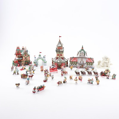 Department 56 Heritage Village, North Pole Series and Other Christmas Figurines
