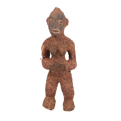 Beaded Figure from Cameroon