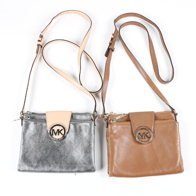 MICHAEL Michael Kors Fulton Double-Zip Crossbody Bags
