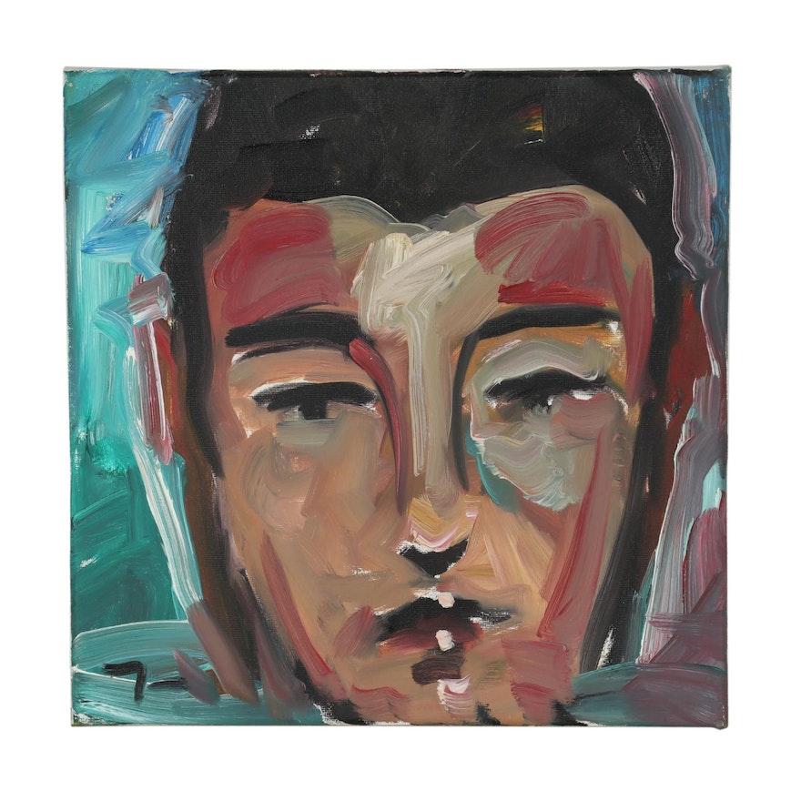 Jose Trujillo 2019 Portrait Oil Painting