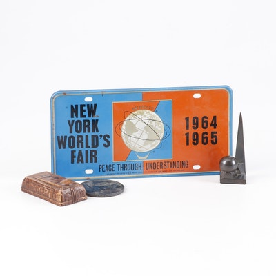 1964 and 1939 New York World's Fair Collectible Memorabilia