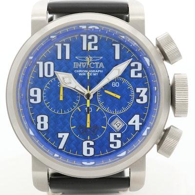 Invicta Aviator Quartz Chronograph Wristwatch