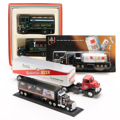 Matchbox Miller Genuine Draft Peterbuilt Semi-Truck Model and other Models