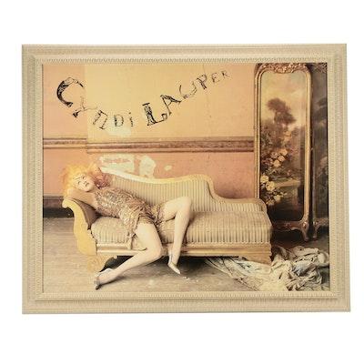 Cyndi Lauper Offset Lithograph