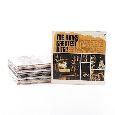 Records Albums, including The Kinks, Beach Boys, Jane Fonda, and more