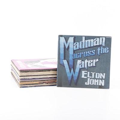 Record Albums including Paul McCartney, Elton John, Mamas & Papas and more