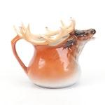 Royal Bayreuth Pottery Elk Pitcher