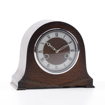 Smiths Enfield Clock Co. Mantel Clock, Mid-Century