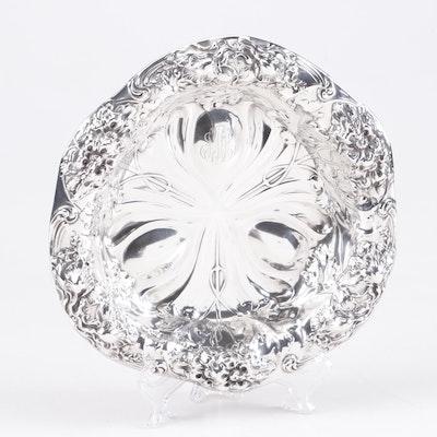 Gorham Art Nouveau Sterling Silver Serving Bowl, 1907