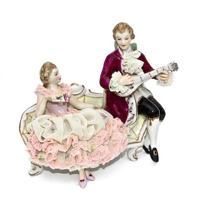 MZ Dresden Ireland Porcelain Figurine
