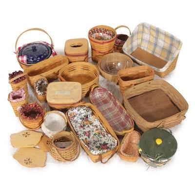 Longaberger Baskets Including Limited Edition Baskets