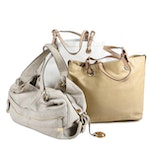 MICHAEL Michael Kors Grained Leather Bags and Patent Leather Tote