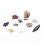Garnet, Topaz, Cristobalite and more Rocks and Mineral Specimens
