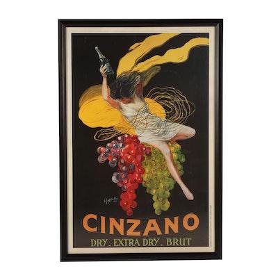 "Lithograph Advertising Poster ""Cizano"""